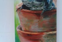 Mijn schilderijen en beelden