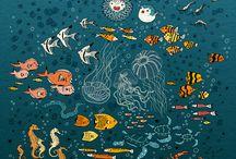 sea illustrations