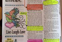 Bible Journal Ideas
