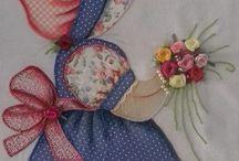 pinturas e patchwork
