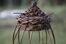 Vide och risarbeten -Willow work