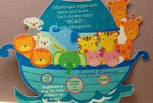 Noah's Ark baby shower theme