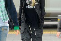 kpop airport fashion
