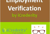 iCrederity - Employment Verification (HR) / iCrederity does an extensive employment history check for candidates, by verifying details like claimed employment period, position, reporting manager, compensation, and eligibility to rehire. Assure your business of nothing but the best resources and talents. #HR #EmploymentVerification #iCrederity