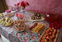 Tea Party Birthday / 5th Birthday tea party