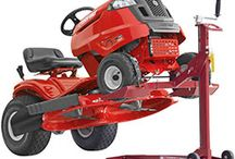 Giddy Up! The Riding Mowers Are Here! / Only the best of the riding lawn mowers from Lowes, Home Depot, and Sears. If it's not hot, it's not here. Save time by checking the one and only complete list of best selling lawn tractors on the internet from major retailers. / by Proven Helper Handy How-to's