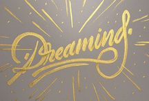 Lettering, Typography, Fonts