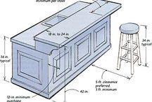 Basement Kitchen Ideas / Kitchen island with sink