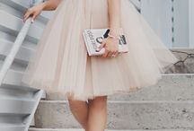 Women Fashion: Tulle Skirt Outfits