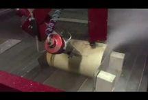 Kevlar Tube for Energy Industry / Waterjet cutting of Kevlar Tube for Energy Industry