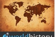 World History / Resources for building online world history course / by Dacia Guffey