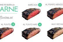 Infografías comida