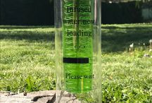 """Design #3 • Green • """"Infused water now loading ... Please wait"""""""