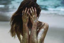 glitter lady