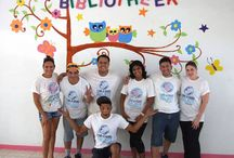 DI ARUBA LEND-A-HAND PROJECT - JUNE 21, 2014 / The DI team donated their time to help renovate the library of the Maria Regina Basisschool in San Nicolaas