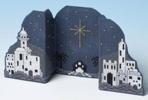 3D betlehem cross stitch
