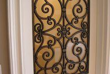 πορτες με ξυλο και μεταλο