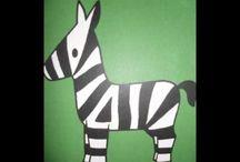 Thema dierentuin 1/2a 2014