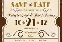 Wedding invitation and save the date ideas