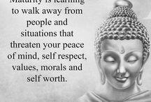 Virtues, Buddha