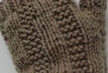 cachecol trico luvas