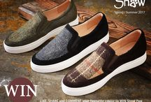 Summer is on its way! / New Harris Tweed footwear in perfect for Spring/Summer 2016!