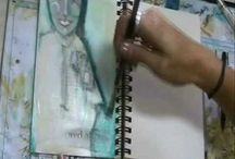 Art Journaling How-To-Videos / by artmart