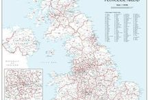 Postcode Maps / The range of Postcode maps across the UK which are used by businesses for sales territory management, creating franchise areas, targeting marketing and finding customers.