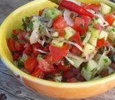 Türkischer Tomaten Salat