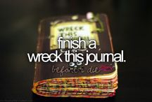 ✭~wreck this journal~✭