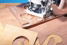 Router jigs / Woodworking templates for power routers