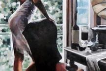 ART  / Painting of women