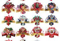 Petite Pop-up Christmas Cards & Tree Decorations