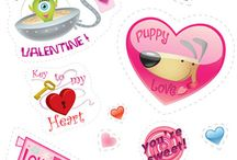 Valentine's Day Printables / by Stacey Misty