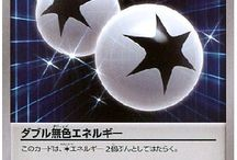 Double Colorless Energy / Double Colorless Energy (Japanese: ダブル無色エネルギー Double Colorless Energy; 無色2個エネルギー before HeartGold & SoulSilver) was the first-released Special Energy card in the Pokemon Trading Card Game, and as such, is one of the most well-known, especially by older players. It was, until the Team Rocket expansion, the only Energy card that one could have, of only four in a deck.
