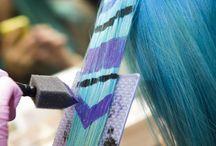 pastele włosy