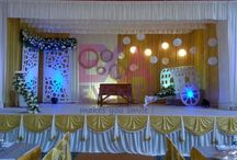 Kerala Christian Wedding Stage Decor
