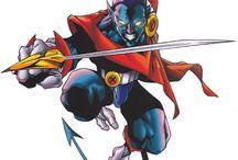 Nightcrawler / Nightcrawler (Kurt Wagner) is a fictional superhero is in association with the X-Men.