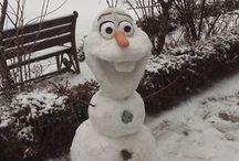 Výrobky ze sněhu