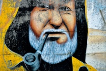 Street art / Out door art / by Damiana Seabrook