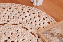 alfombras / Alfombras de crochet