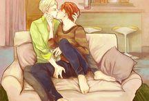 Draco x Ron