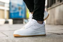"Nike Wmns Air Force 1 '07 Premium ""Summit White"" (616725-104)"
