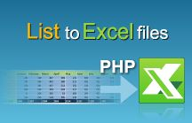 Excel Library | PHP Tutorials / Excel file manipulation in PHP - best practices for export data to Excel, import data from Excel and formula calculation