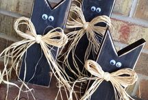 Simple Halloween Decorations / Fun and simple decorations for Halloween.