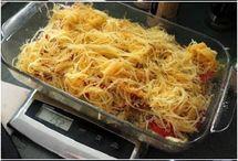 Spaghetti Squash n Tomato Bake