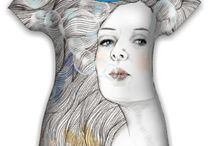 kwolff_art / Embroidery, Textil art, designs, ideas, jewellery, fashion