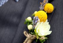 wedding flowers / by Stefanie Smith