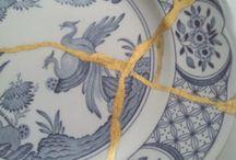 kintsugi arte per tutti / Ripariamo i vostri oggetti  con il Kintsugi, la tecnica che decora con l'oro le fratture degli oggetti in ceramica e vetro, ridandogli nuova vita ed il piacere di avere un oggetto unico ed ancora più prezioso.