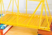 Spagetti köprü yarışması